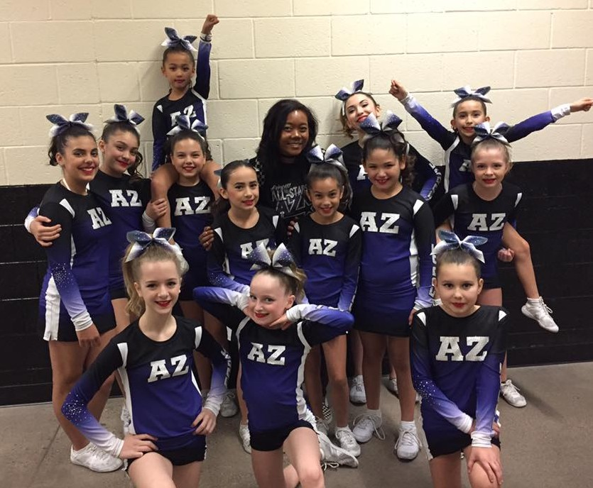 AZ Force Non-Travel Prep 2016-2017 - Our Sapphires showing off their final competition win!