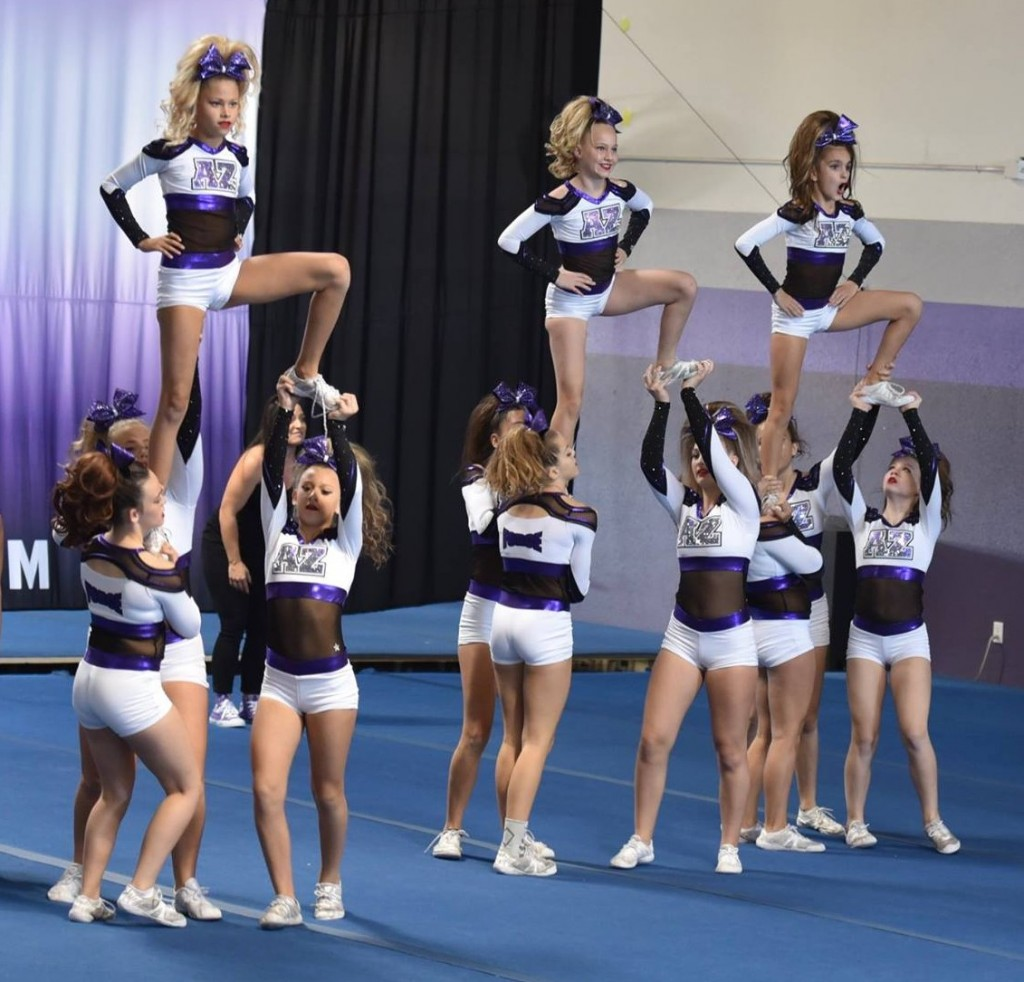 AZ Force Traditional All-Star 2017-2018 – J3 Purple Tide