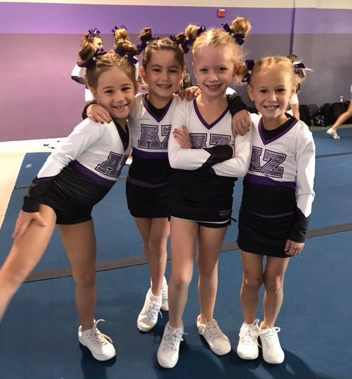 AZ Force Tiny Exhibition 2017-2018 - Our tinys are very excited about their uniforms this season!