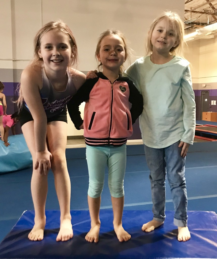 Winter Break Camp 2017-2018 - New friends playing together during open gym time!